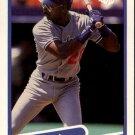1990 Fleer 391 Mike Davis