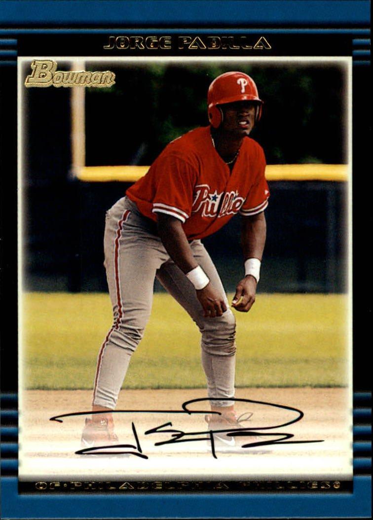 2002 Bowman #309 Jorge Padilla RC