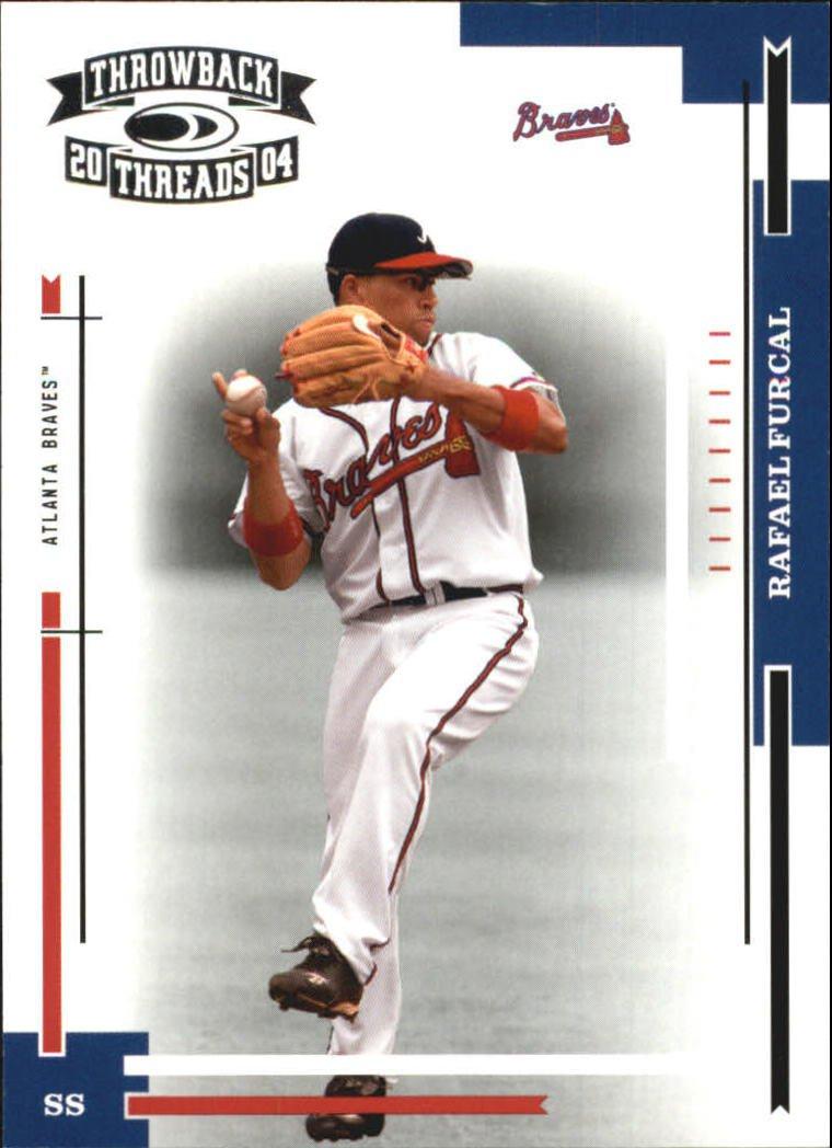 2004 Throwback Threads #20 Rafael Furcal