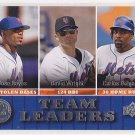2009 Upper Deck 433 Jose Reyes/David Wright/Carlos Delgado TL