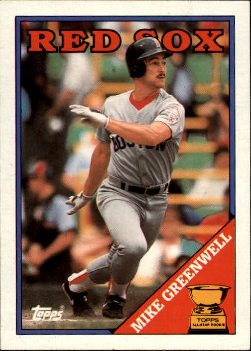 1988 Topps 493 Mike Greenwell