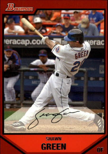2007 Bowman #51 Shawn Green