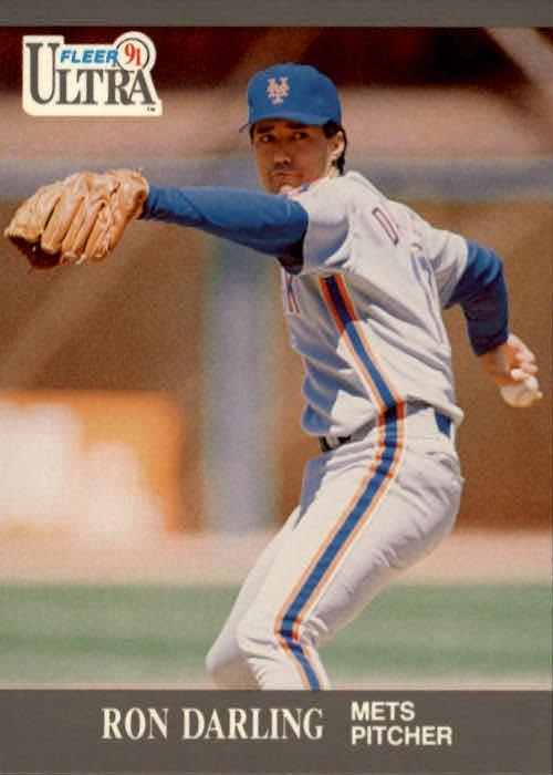 1991 Ultra #214 Ron Darling
