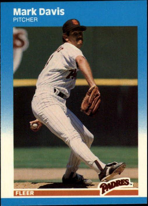 1987 Fleer Update #21 Mark Davis