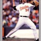 1992 Leaf 465 Storm Davis