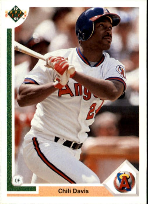 1991 Upper Deck 339 Chili Davis