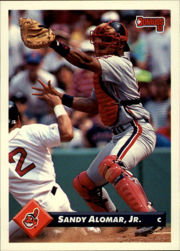 1993 Donruss 39 Sandy Alomar Jr.