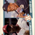 1990 Fleer #650 Chuck McElroy/Moises Alou RC