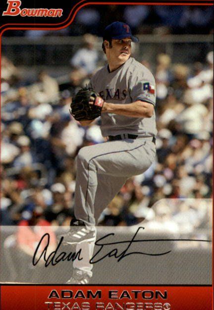2006 Bowman #124 Adam Eaton