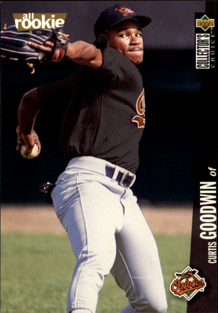1996 Collector's Choice #50 Curtis Goodwin