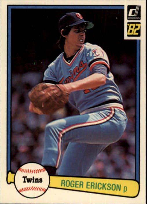 1982 Donruss #303 Roger Erickson