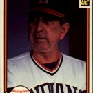 1982 Donruss #337 Dave Garcia MG