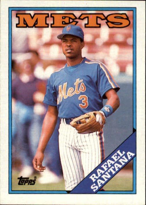 1988 Topps 233 Rafael Santana