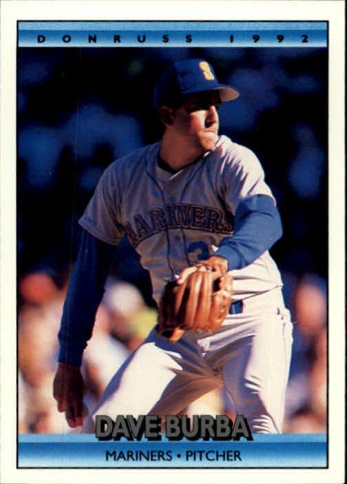 1992 Donruss 566 Dave Burba
