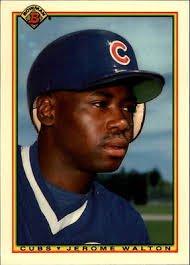 1990 Bowman 35 Jerome Walton