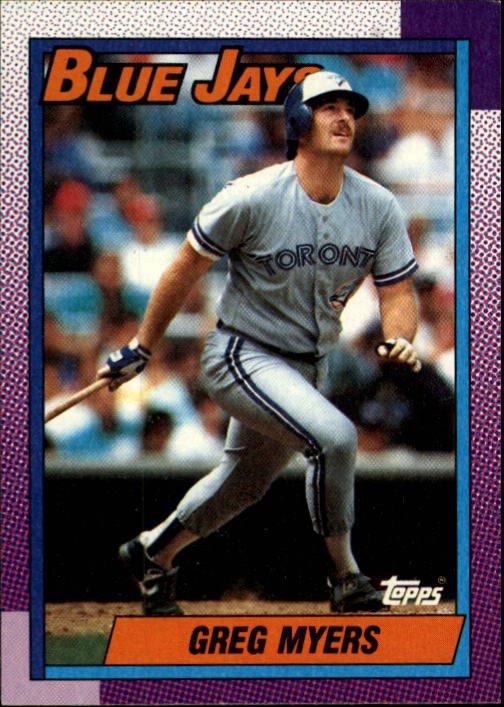 1990 Topps 438 Greg Myers
