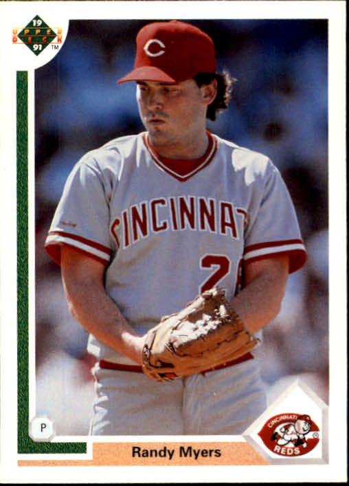 1991 Upper Deck 371 Randy Myers