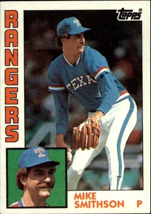 1984 Topps 89 Mike Smithson RC