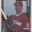1992 Spartanburg Phillies Fleer/ProCards #1257 Greg Brown