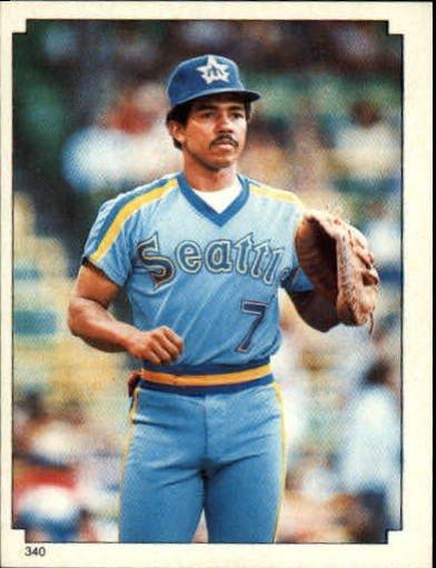 1984 Topps Stickers #340 Tony Bernazard