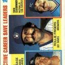1984 Topps 718 Rollie Fingers/Rich Gossage/Dan Quisenberry LL
