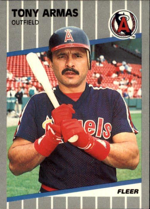 1989 Fleer 467 Tony Armas UER