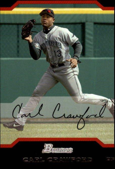 2004 Bowman #56 Carl Crawford