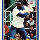 1981 Donruss 162 Thad Bosley
