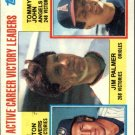 1984 Topps 715 Jim Palmer/Don Sutton/Tommy John LL