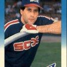 1987 Fleer #499 Ron Hassey