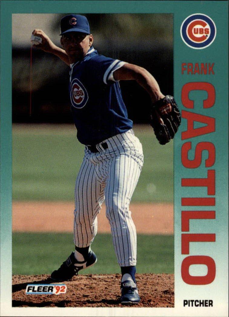1992 Fleer 378 Frank Castillo