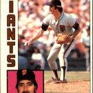 1984 Topps 205 Greg Minton