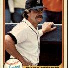 1981 Fleer #466 Champ Summers