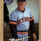 1987 Topps 218 Sparky Anderson MG