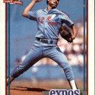 1991 Topps 528 Dennis Martinez