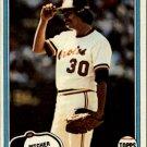 1981 Topps #367 Dennis Martinez