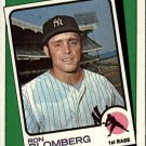 1988 Topps 663 Ron Blomberg TBC
