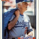 1991 Topps 789 Tom Lasorda MG