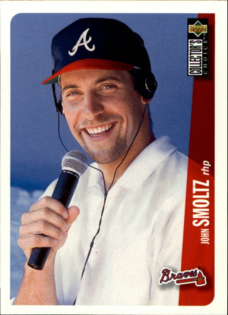1996 Collector's Choice #49 John Smoltz