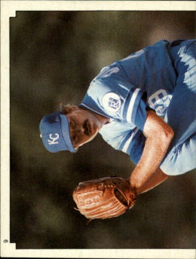 1984 Topps Stickers #9 Dan Quisenberry/(Top half)