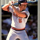 1989 Fleer 475 Brian Downing