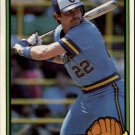 1983 Donruss #206 Charlie Moore