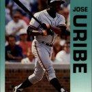 1992 Fleer 649 Jose Uribe