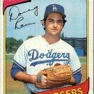 1980 Topps #527 Doug Rau DP