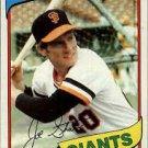1980 Topps #538 Joe Strain