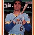 1981 Donruss 163 Julio Cruz