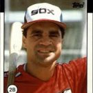1986 Topps 14 Julio Cruz