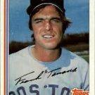 1982 Topps #792 Frank Tanana