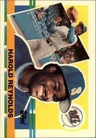 1990 Topps Big #321 Harold Reynolds