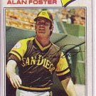 1977 Topps 108 Alan Foster